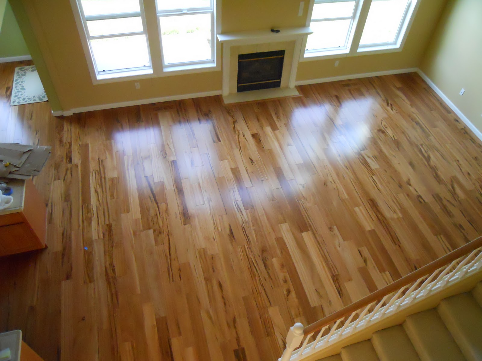 Tigerwood floor installed in vancouver wa portland for Hardwood floors vancouver wa